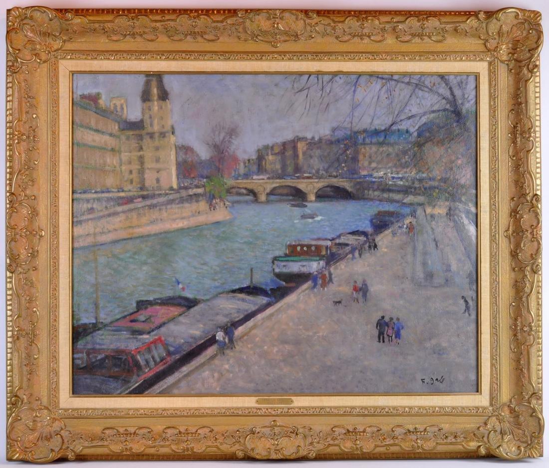 "Francois Gall ""Ecole de Paris"" O/C"