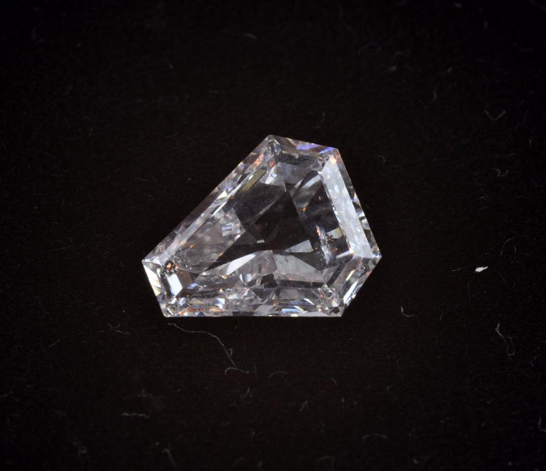 GIA Certified 2.17 Triangular Diamond- E Color I1