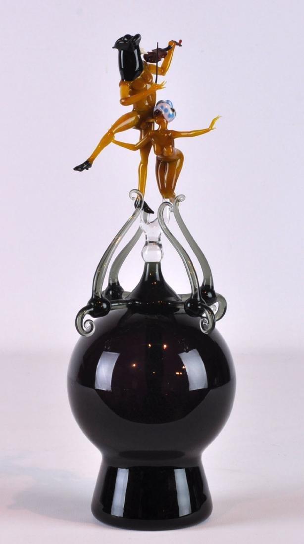 Lucio Bubacco Italian Erotica Art Glass