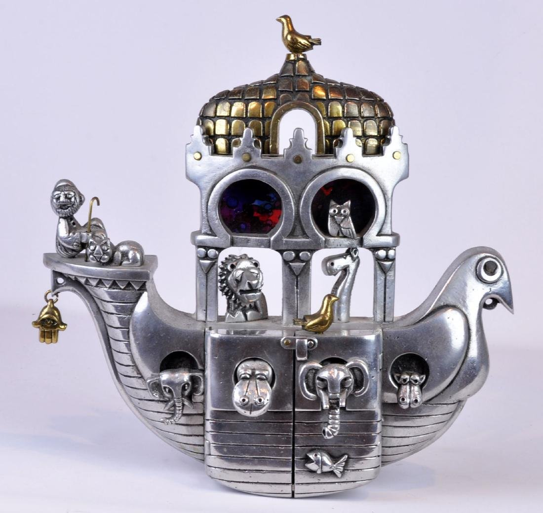"Frank Meisler ""Noah's Ark"" Figural Sculpture"