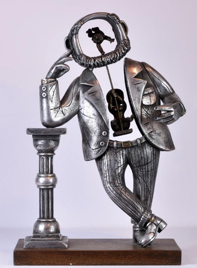 Rare Frank Meisler Monumental Sculpture Signed