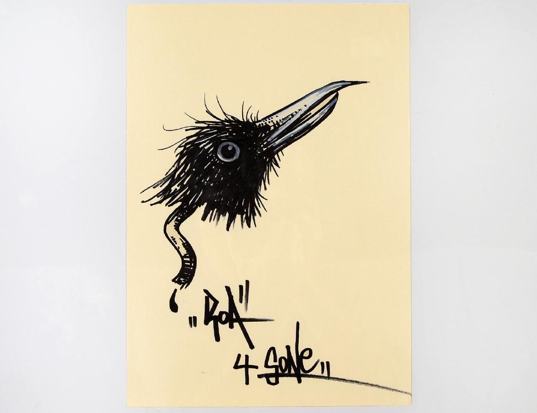 ROA, Marker & Ink, Belgium Street Artist
