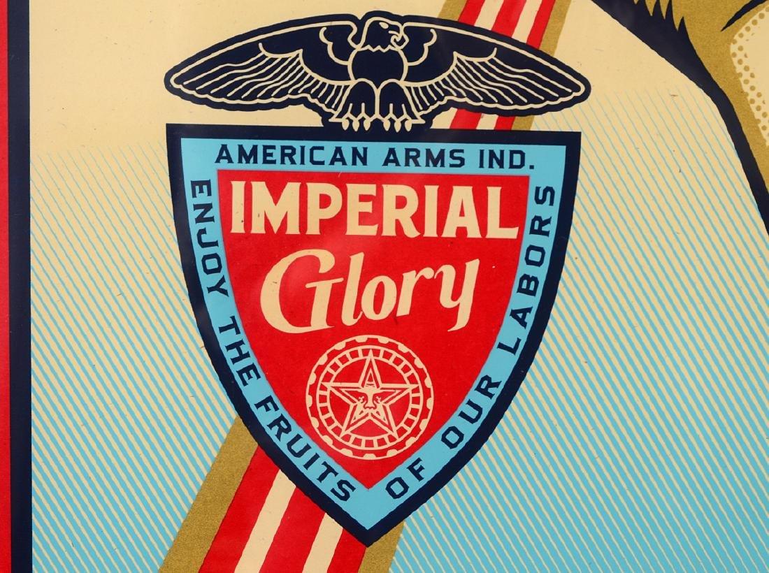 "Shepard Fairey ""Imperial Glory"" Screen Print - 5"