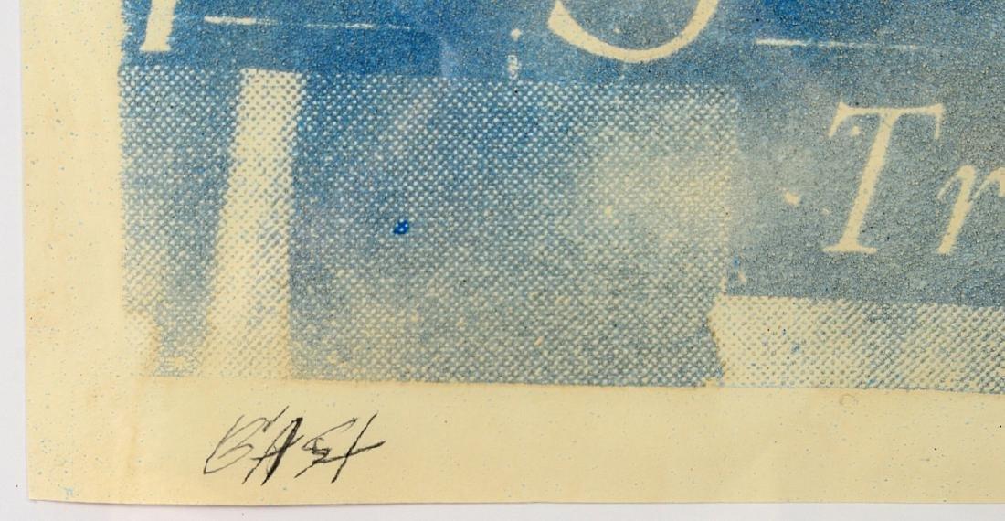"""Bast """"YSL"""" Sand & Ink on Paper - 2"""