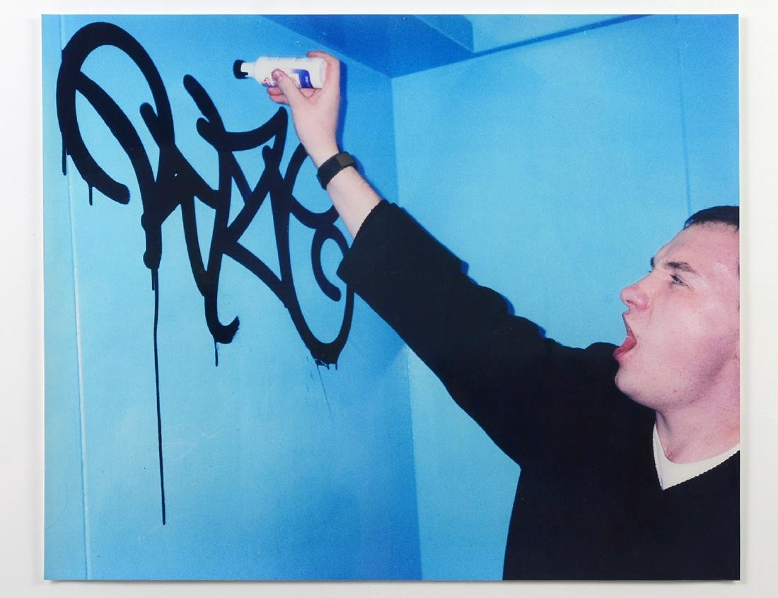 """Barry McGee """"Untitled"""" Photographic Print"""