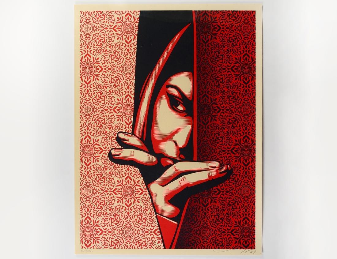 "Shepard Fairey ""Israel / Palestine"" Screen Print"