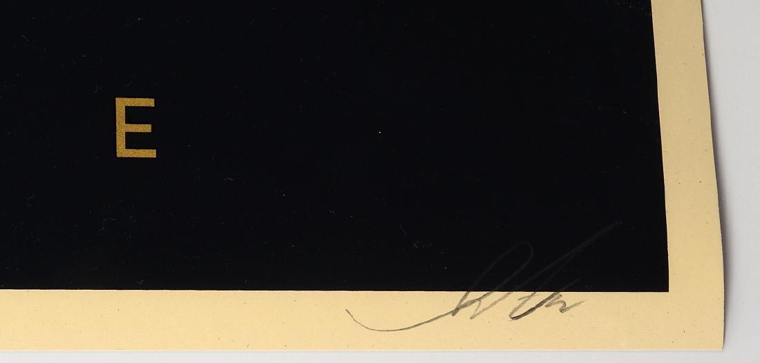 "Shepard Fairey ""Love Is The Drug"" Screen Print - 2"