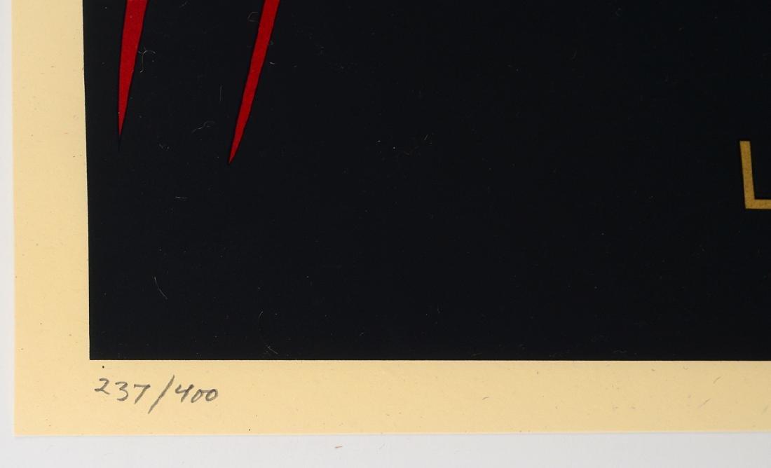 "Shepard Fairey ""Love Is The Drug"" Screen Print - 3"