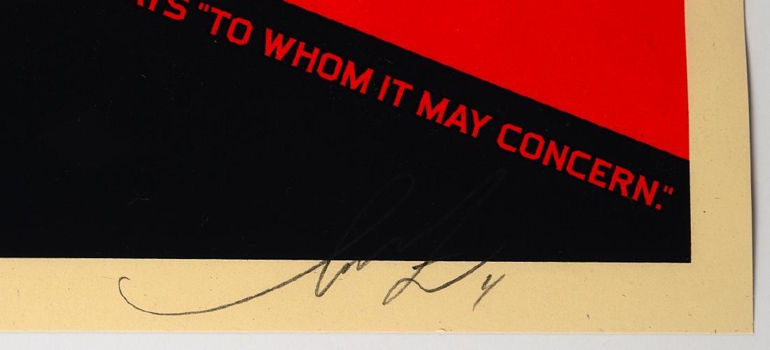 """Shepard Fairey """"2nd Amendment Solutions"""" Screen - 3"""