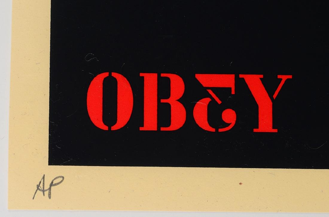 """Shepard Fairey """"2nd Amendment Solutions"""" Screen - 4"""