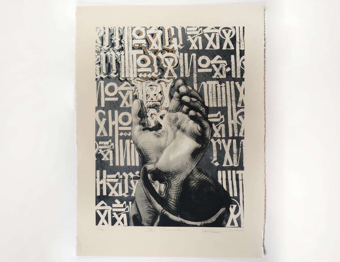 """Retna & El Mac """"The Conductor"""" Screen Print"""