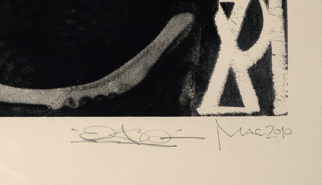 """Retna & El Mac """"The Conductor"""" Screen Print - 3"""