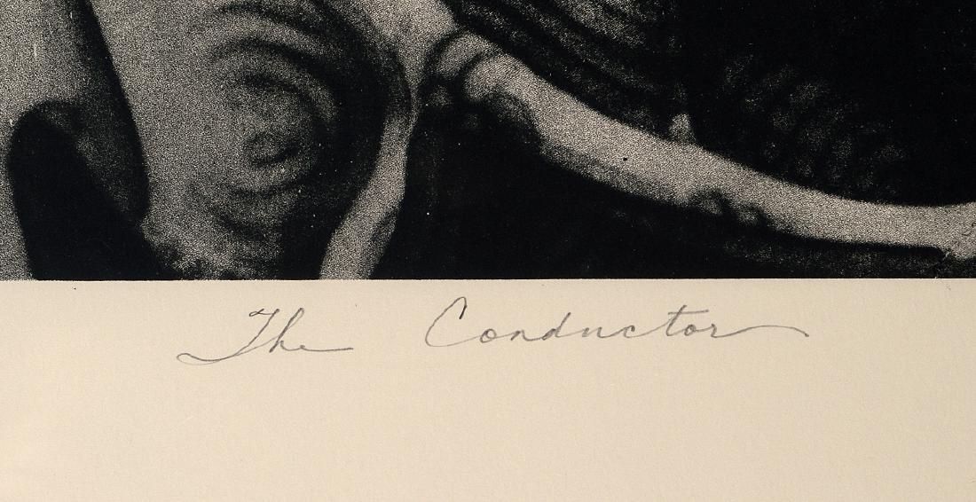 """Retna & El Mac """"The Conductor"""" Screen Print - 4"""