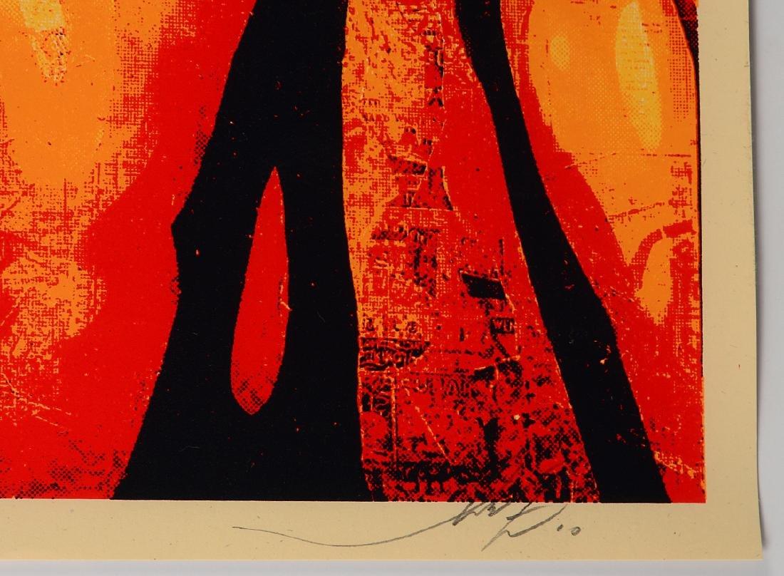 "Shepard Fairey ""Keith Haring"" Screen Print - 2"