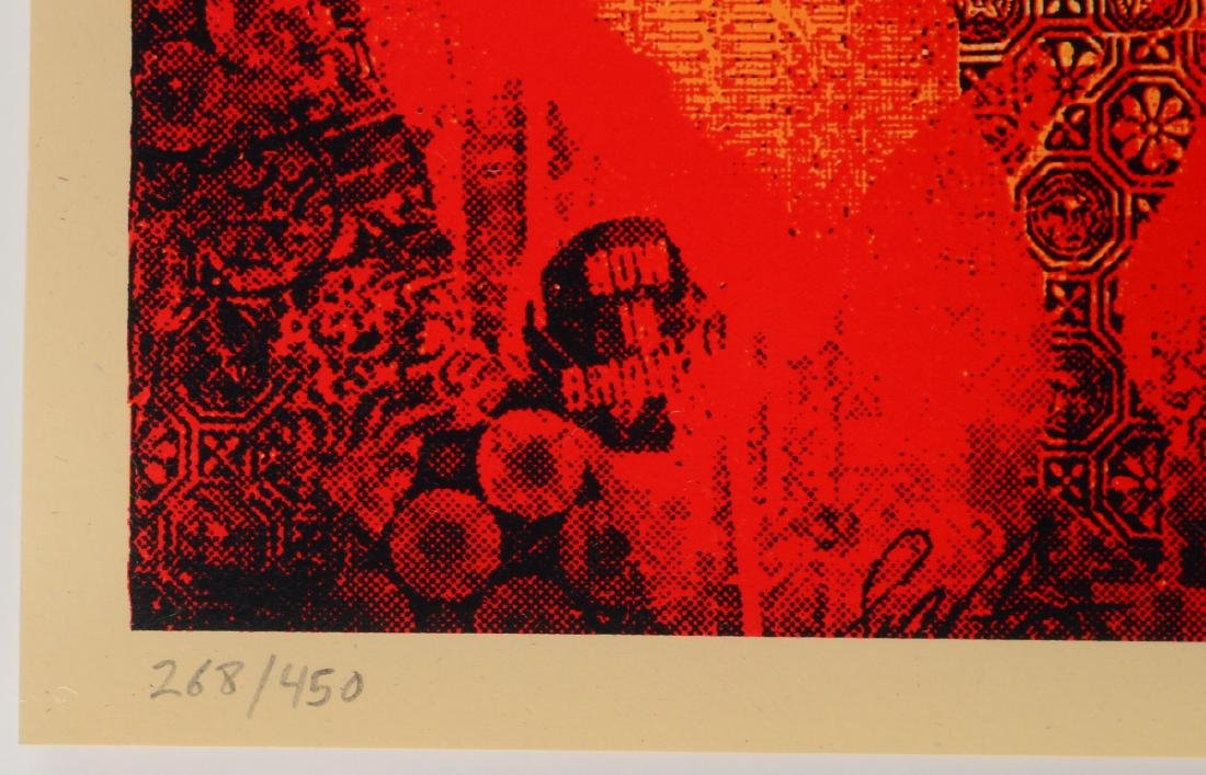 "Shepard Fairey ""Keith Haring"" Screen Print - 3"