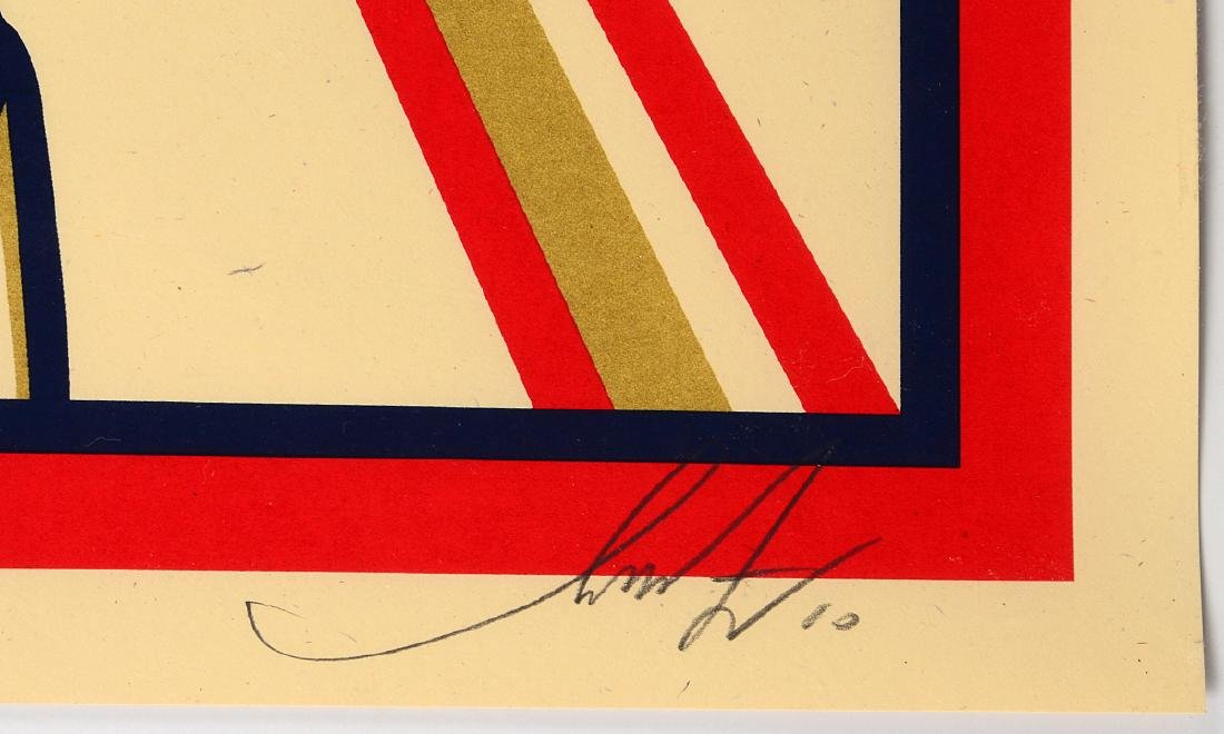 "Shepard Fairey ""Pow(ER)"" Screen Print - 3"
