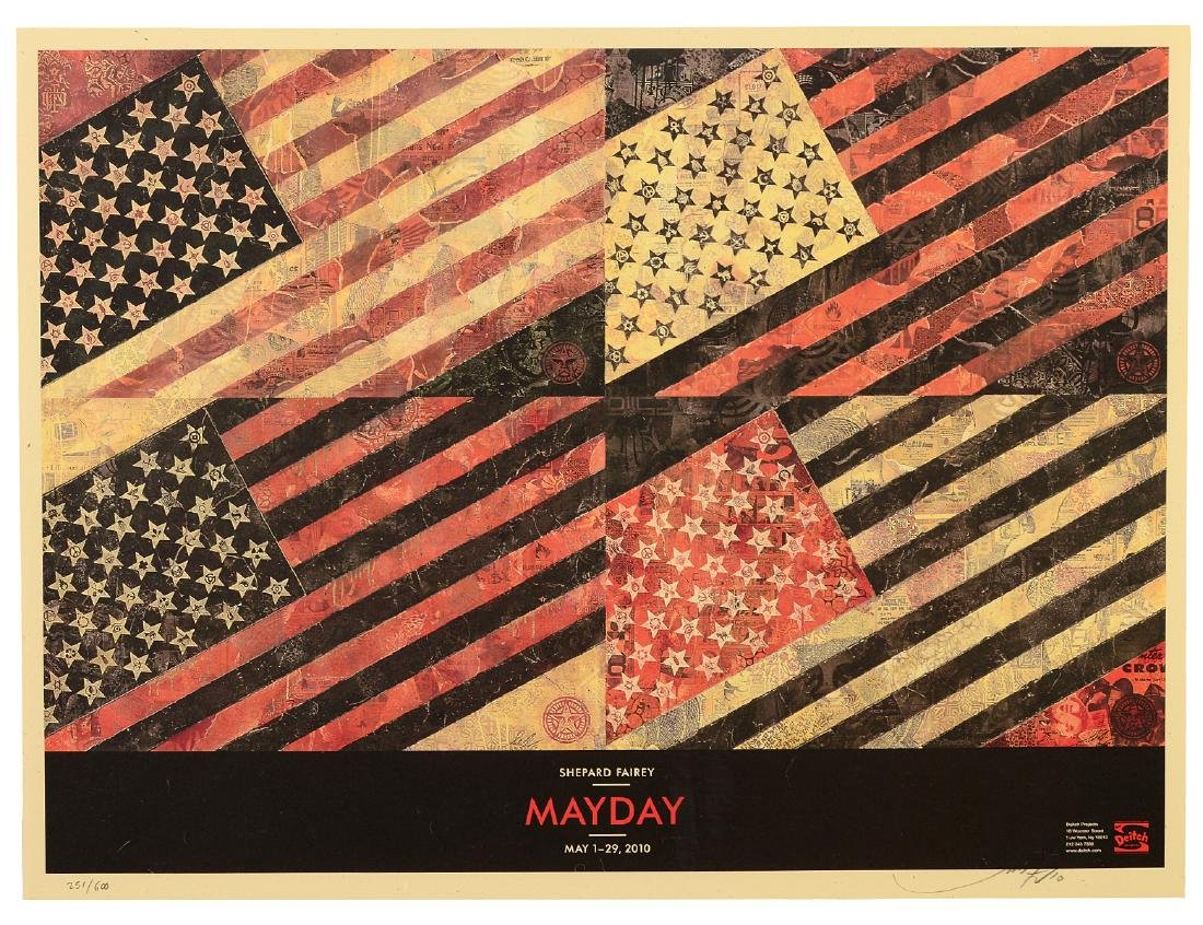 "Shepard Fairey ""Mayday"" Offset Print"