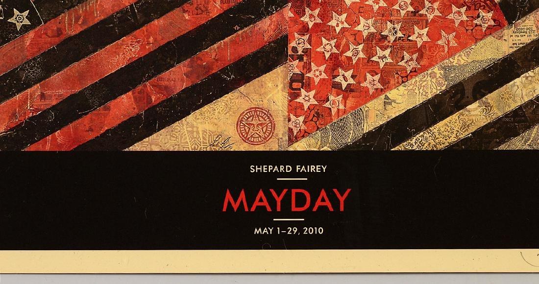 "Shepard Fairey ""Mayday"" Offset Print - 2"