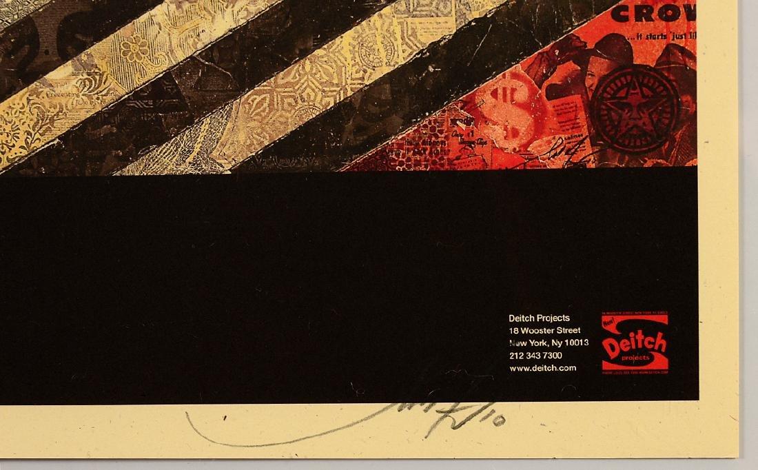 "Shepard Fairey ""Mayday"" Offset Print - 3"