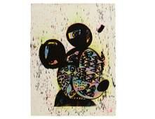 "Bast ""Mickey"" Rare One-Off Silkscreen"