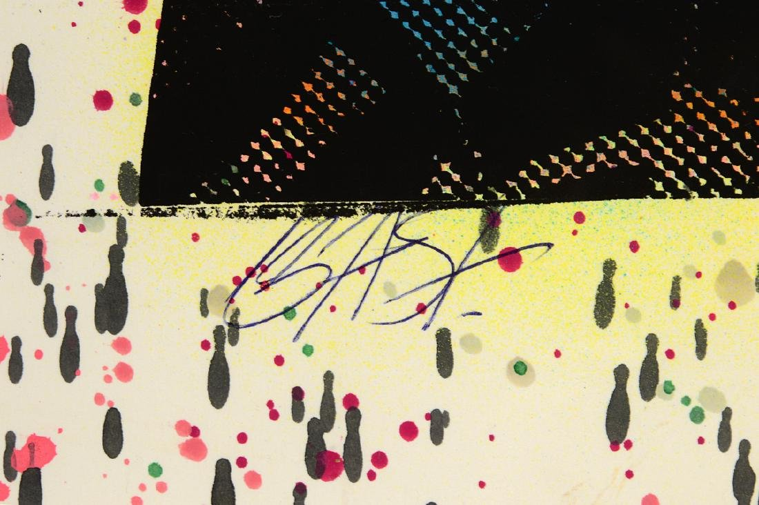 "Bast ""Mickey"" Rare One-Off Silkscreen - 3"
