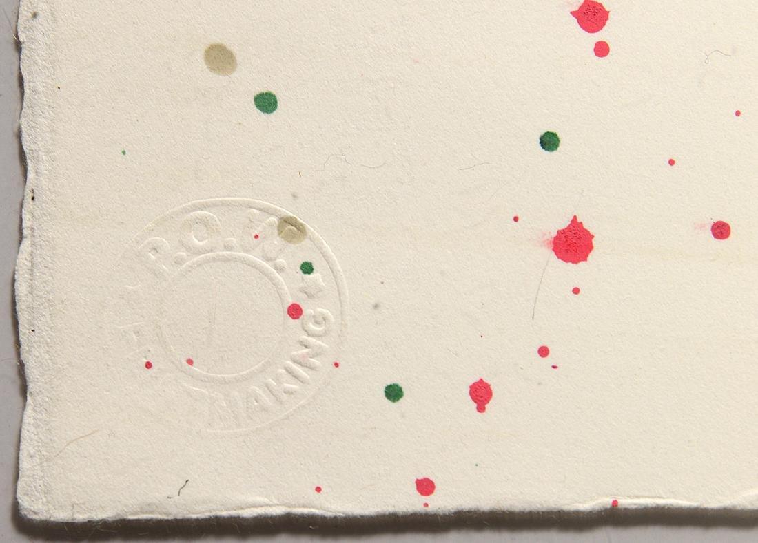 "Bast ""Mickey"" Rare One-Off Silkscreen - 4"