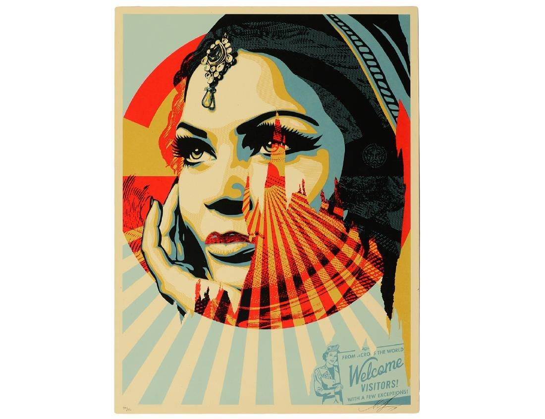 "Shepard Fairey ""Target Exceptions"" Screen Print"