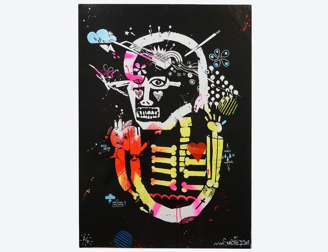 "Sickboy ""Zapatism"" Screen Print"