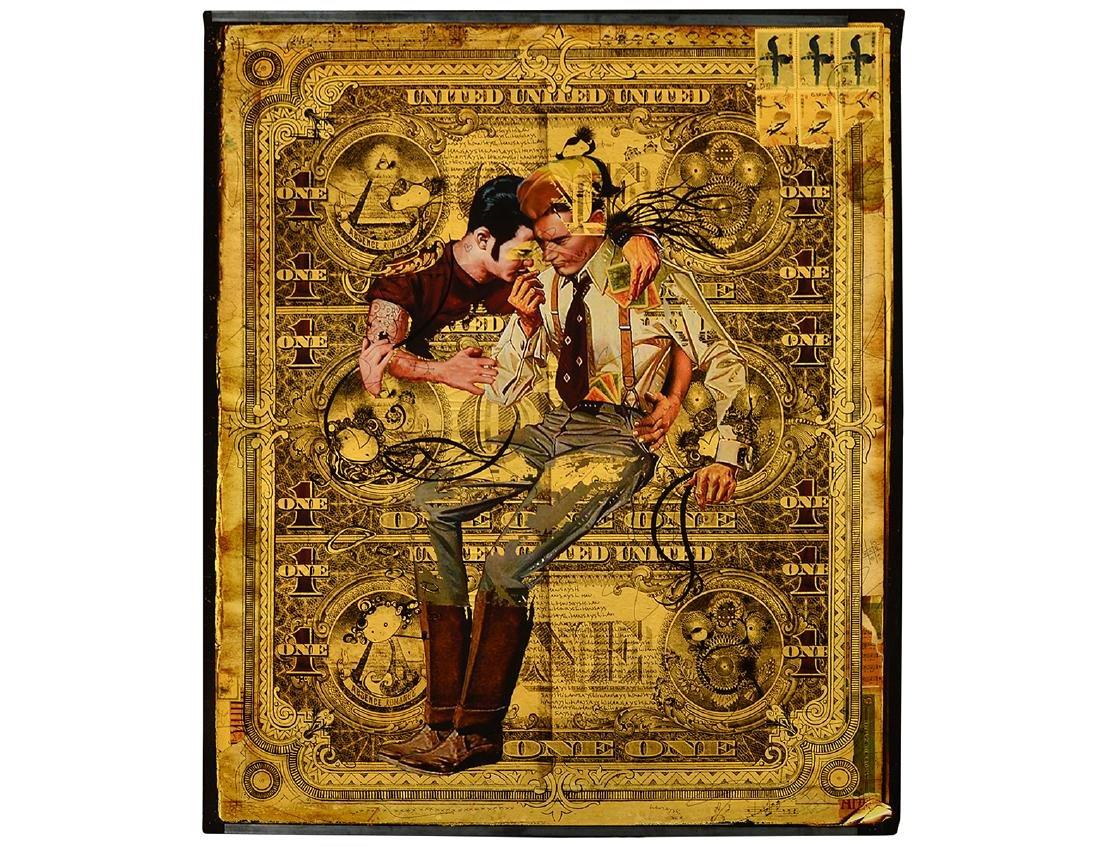 "Large Handiedan ""One No. 1"" Art Print"