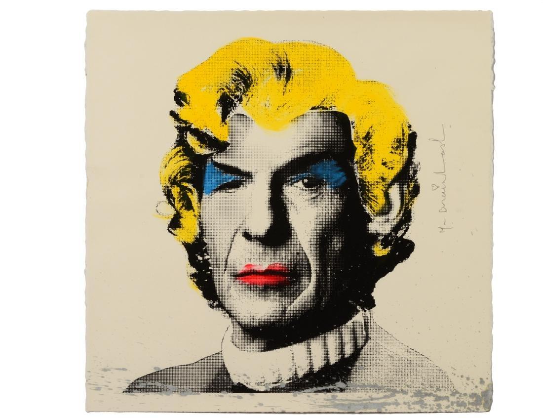 "Mr. Brainwash ""Marilyn Spock"" Screen Print"
