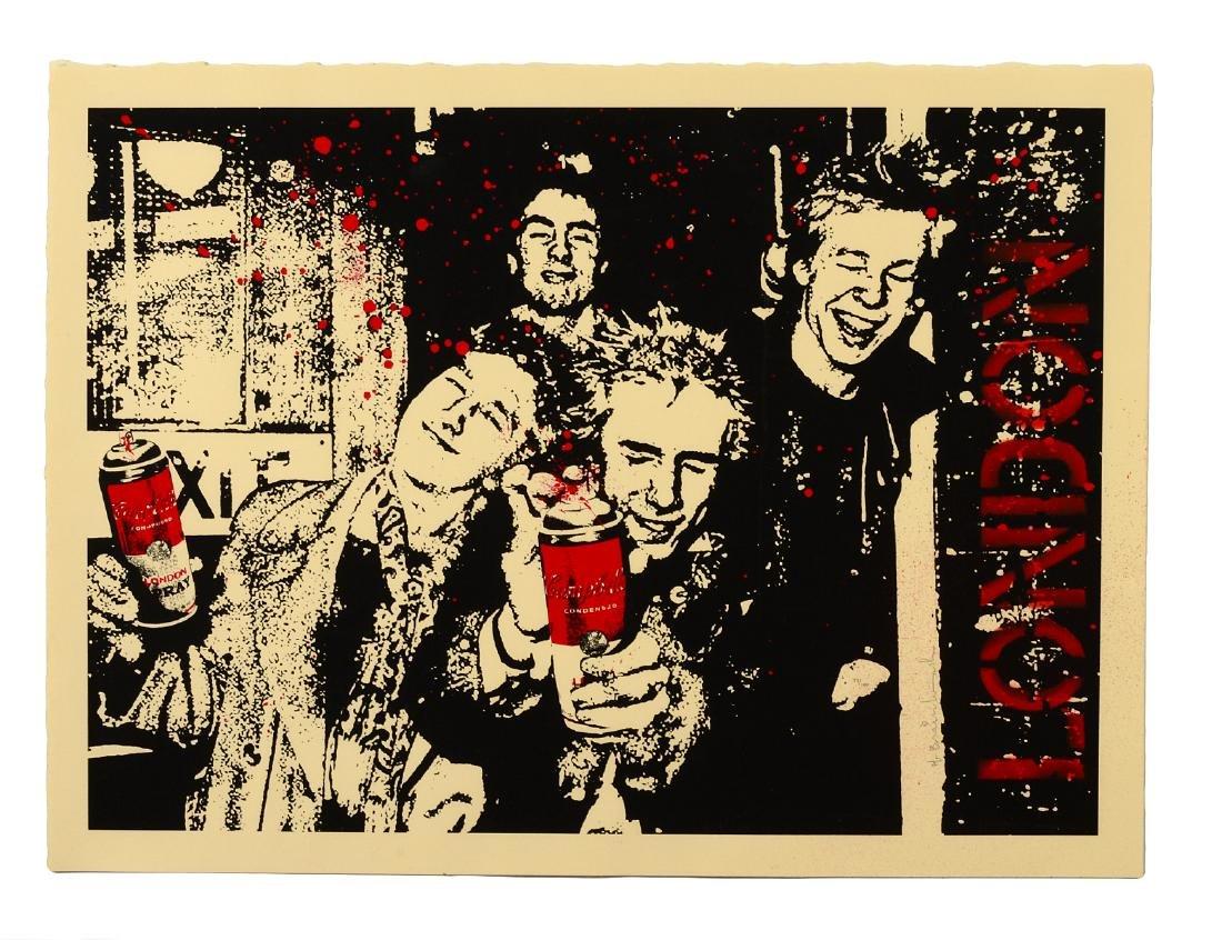 "Mr. Brainwash ""London Years"" Screen Print"