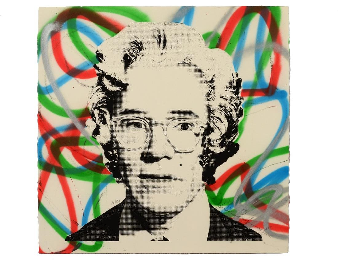 "Mr. Brainwash ""Marilyn Warhol"" Screen Print"