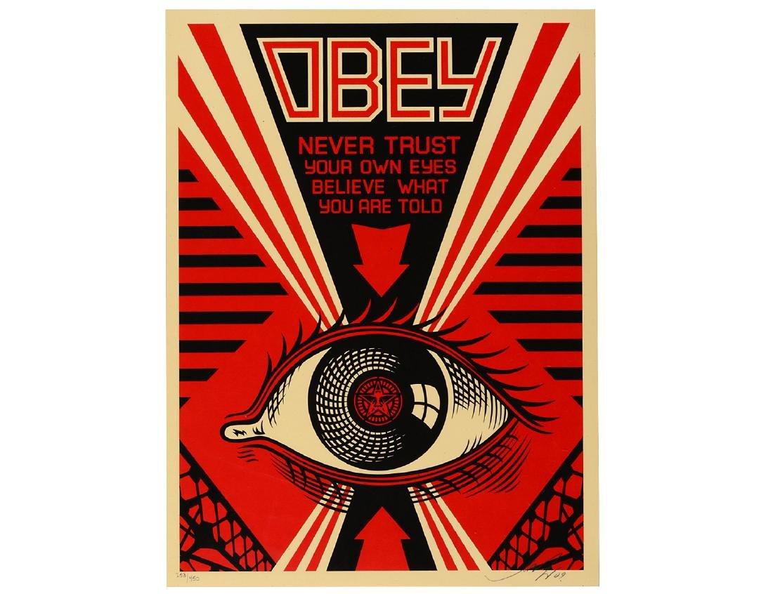 "Shepard Fairey ""OBEY Eye"" Screen Print"