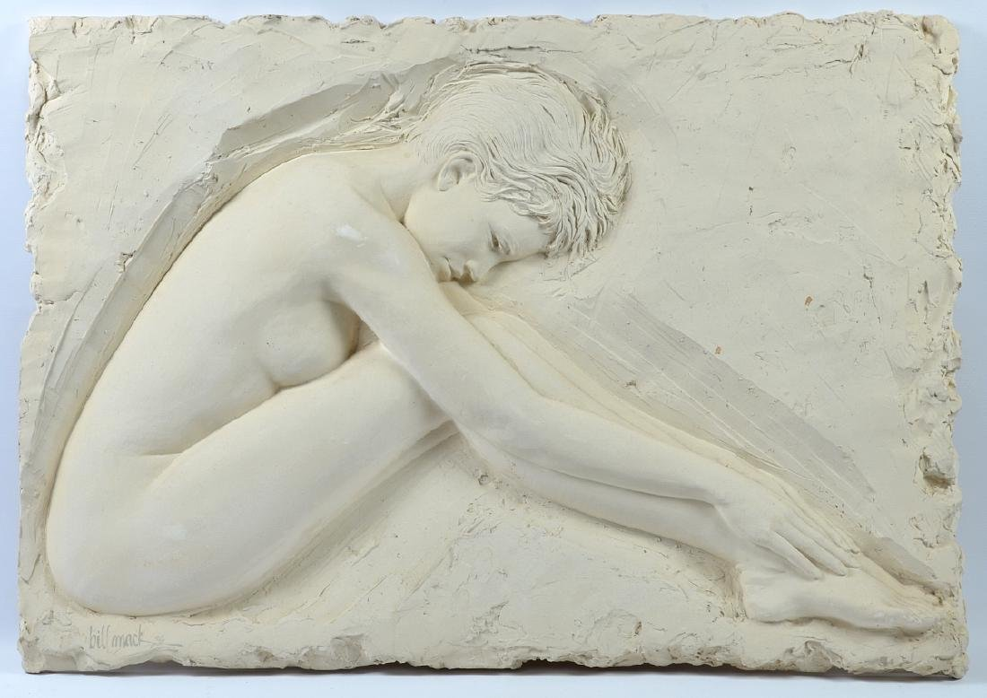 "Bill Mack ""Serenity"" Signed Sculpture"