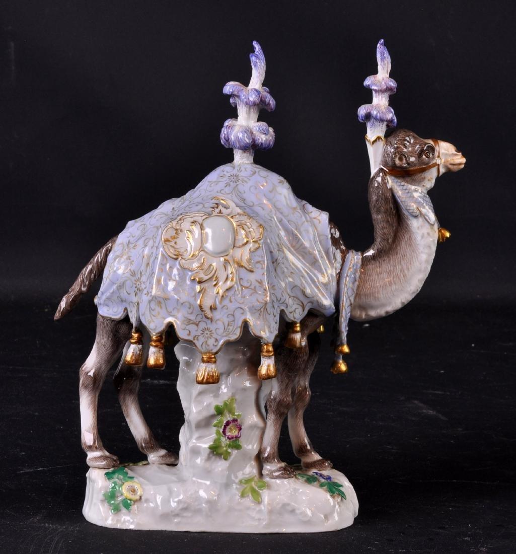 Meissen Porcelain Camel