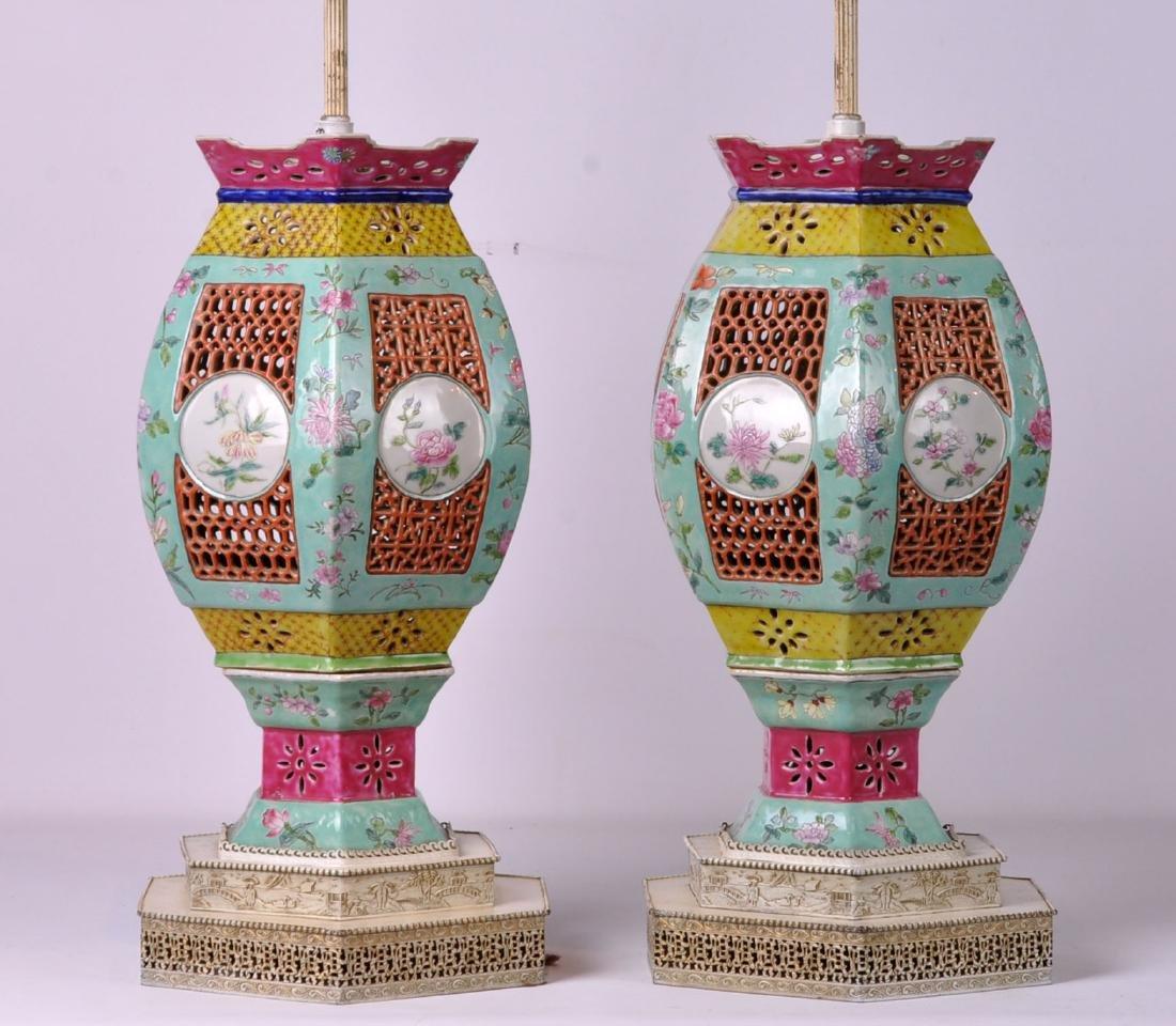 Pr. Chinese Lantern Lamps