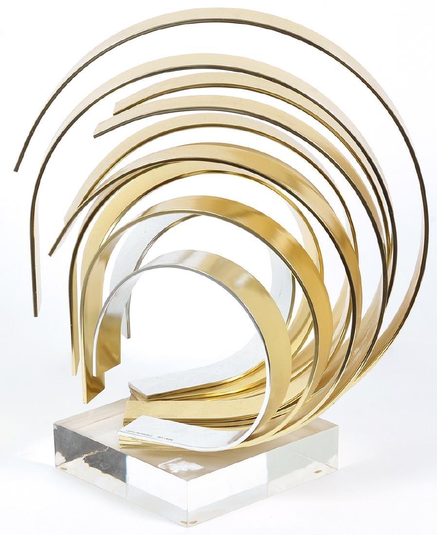 Dan Murphy Signed Ribbon Sculpture