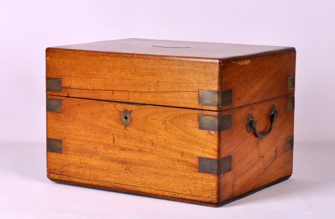 English Mahogany Campaign Box