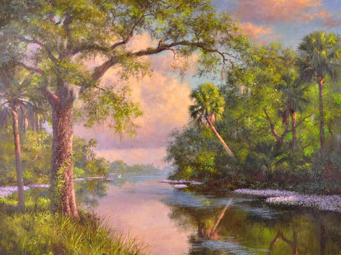 Albert Ernest (Beanie) Backus Florida Highwaymen