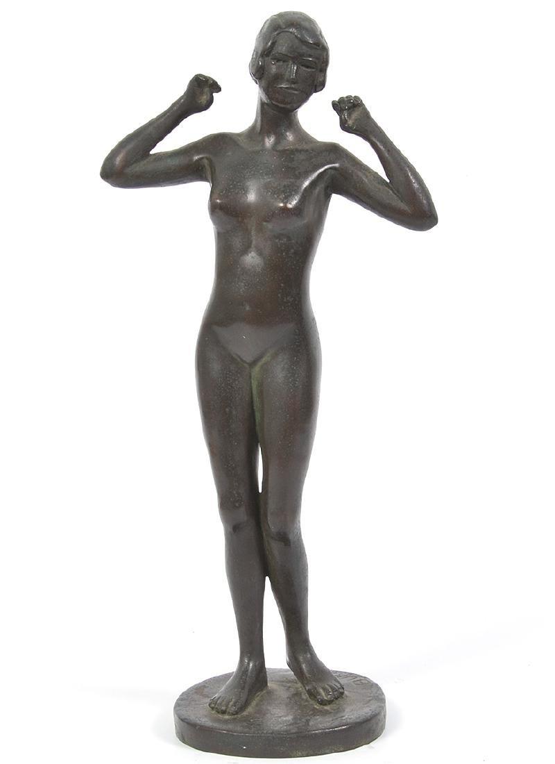 Selma Hortense Burke Signed Bronze Figure