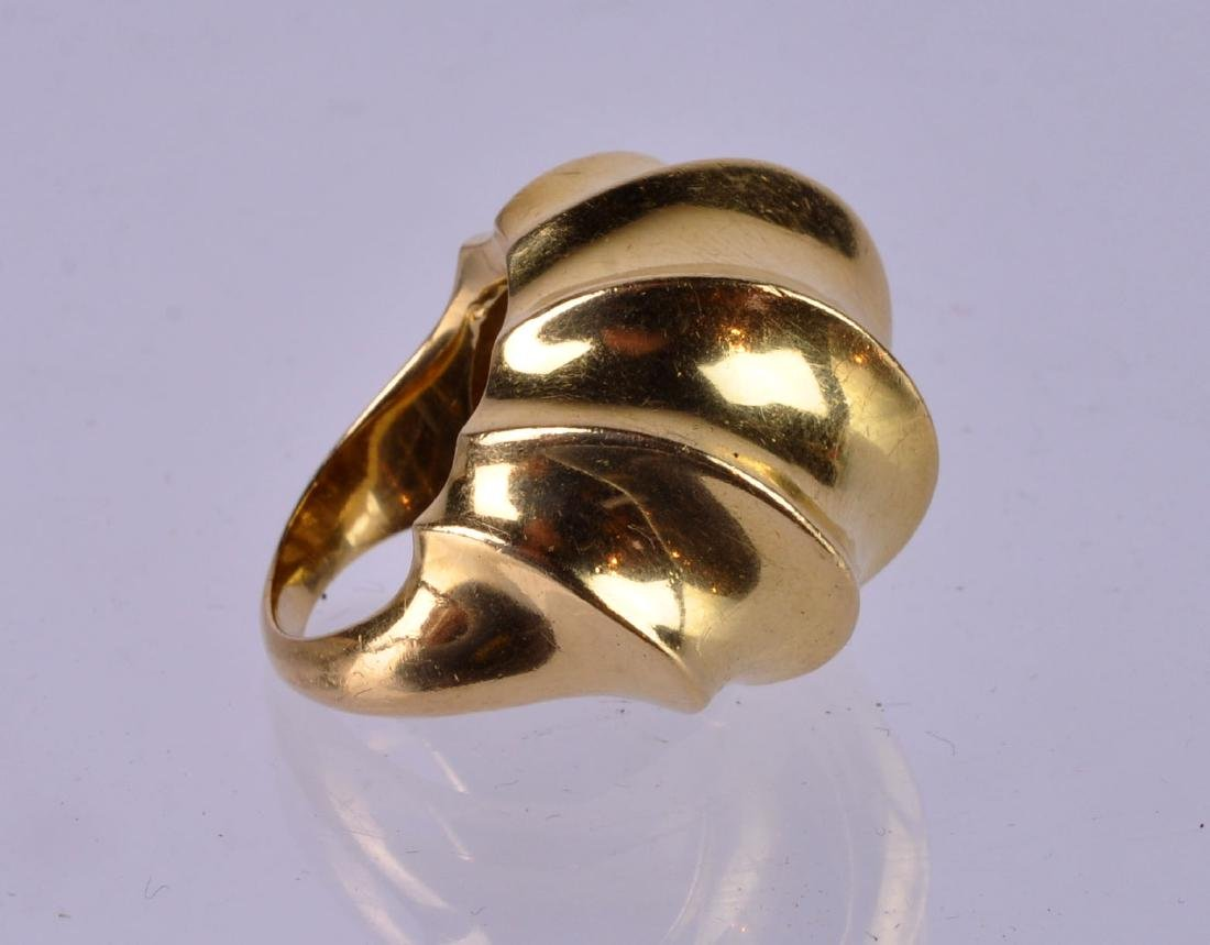 Tiffany & Co. 18Kt Modernist Dome Ring