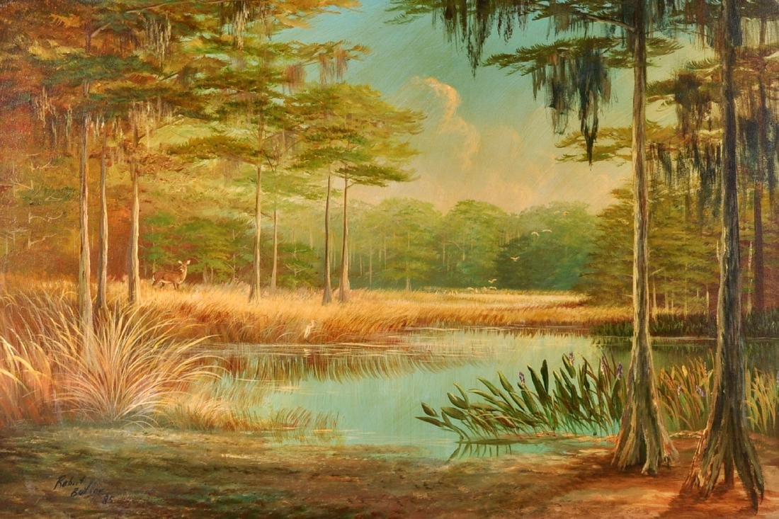 Florida Highwayman Large Painting by Robert Butler