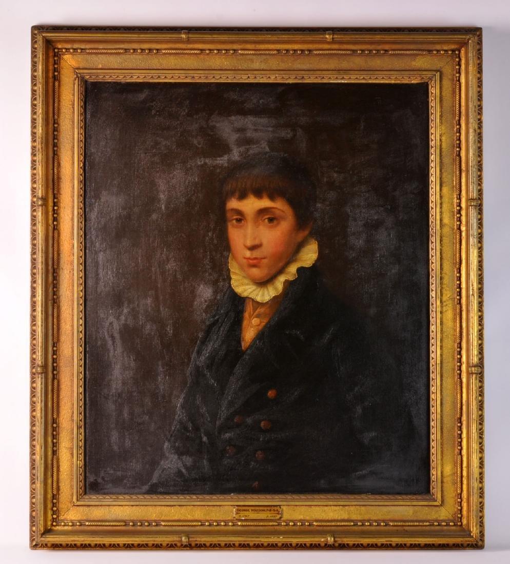 19th C. Portrait Attr. to George Watson O/C