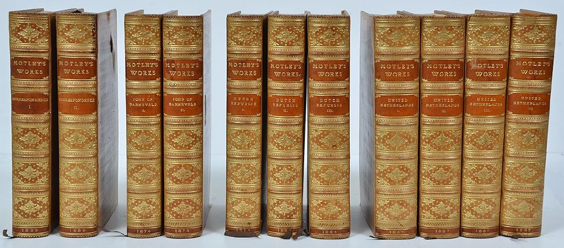 11 Volumes of John Motley's Works