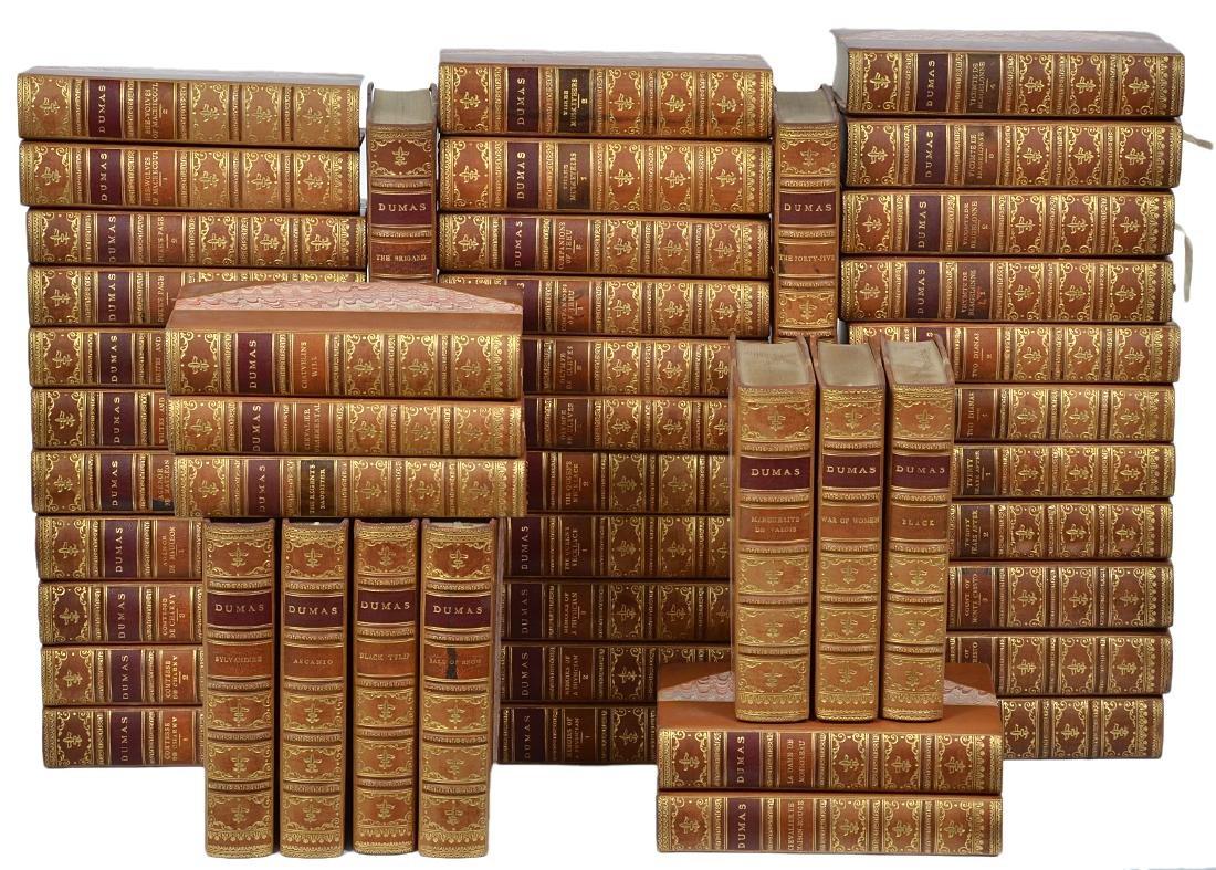 "49 Vol. ""The Romances of Alexandre Dumas"""