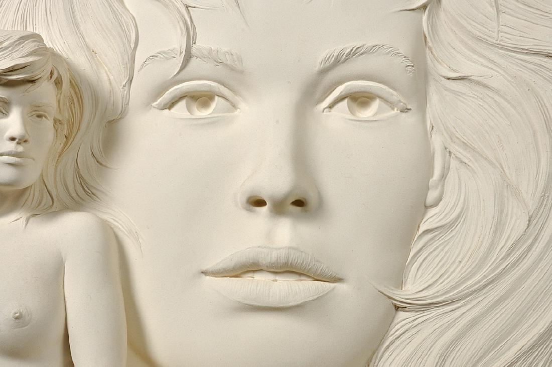 """Large Bill Mack """"Visions"""" Bonded Sand Sculpture - 6"""