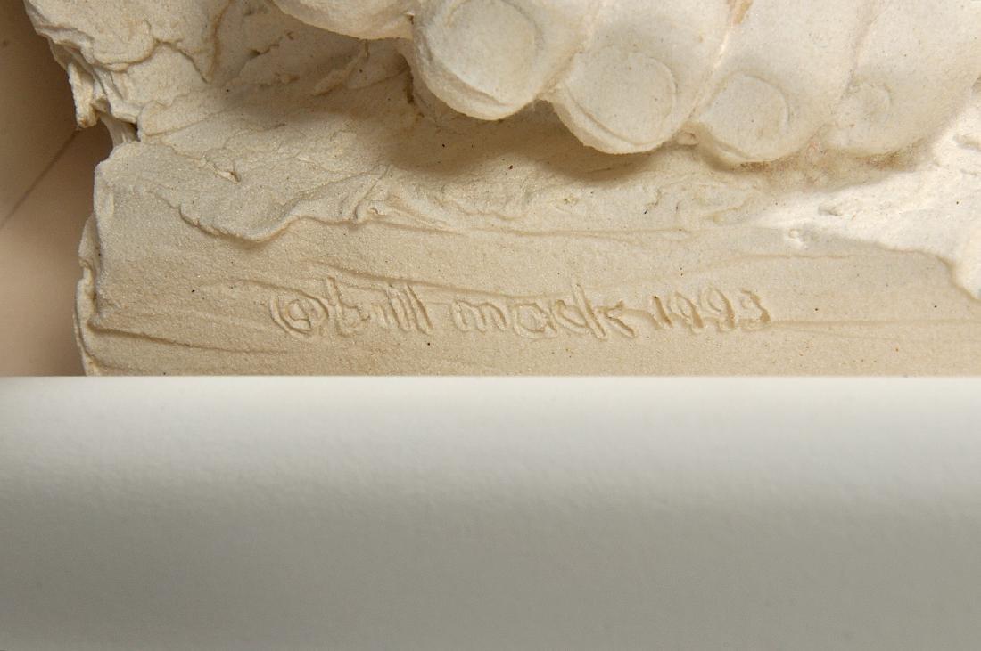 """Large Bill Mack """"Visions"""" Bonded Sand Sculpture - 8"""