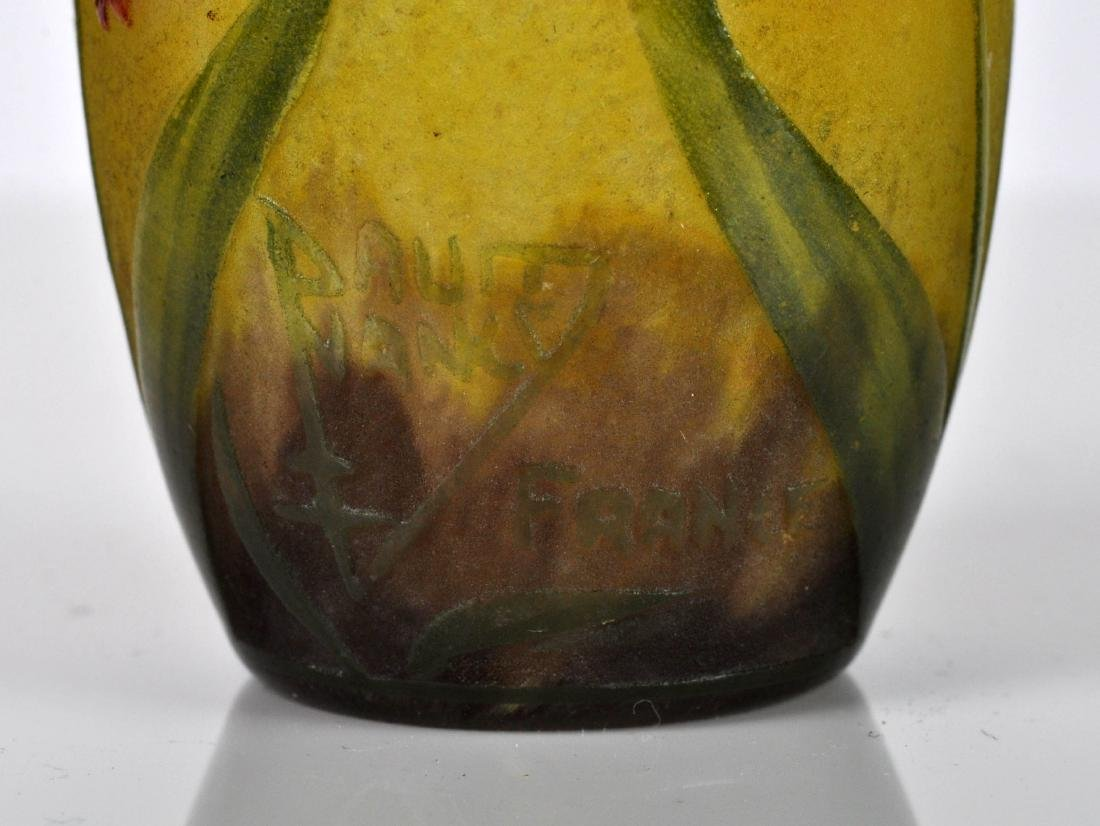 Daum Nancy France Miniature Cameo Vase - 5