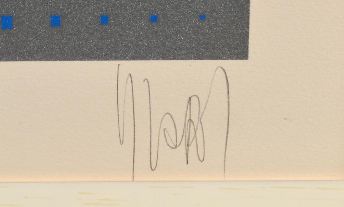 "Yvaral ""Mystique I"" Marilyn Monroe Serigraph - 2"