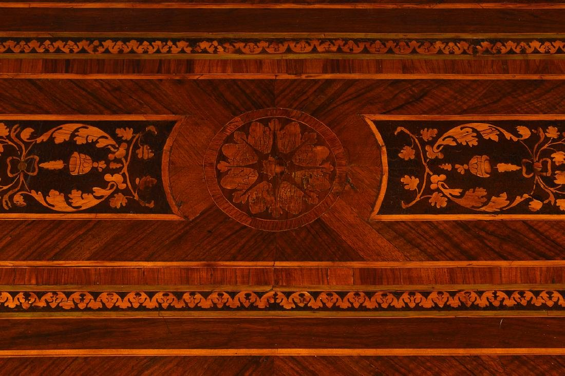 18th C. Italian Neoclassical Marquetry Commode - 7